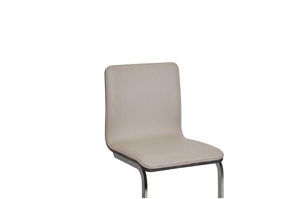 """Kendall Beige 24"""" Upholstered Barstool"""