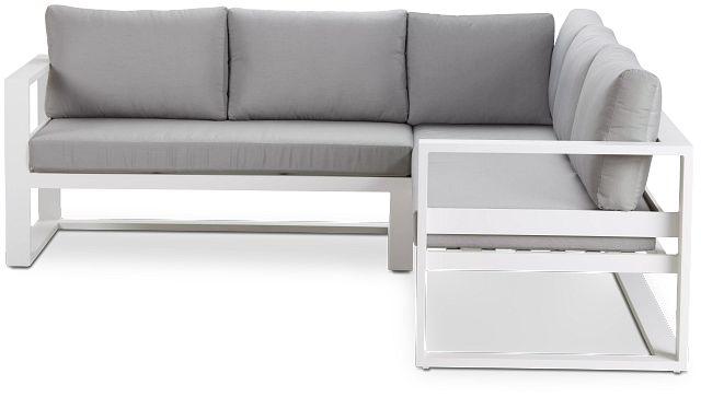 Lisbon Gray Aluminum Small Left Sectional (3)