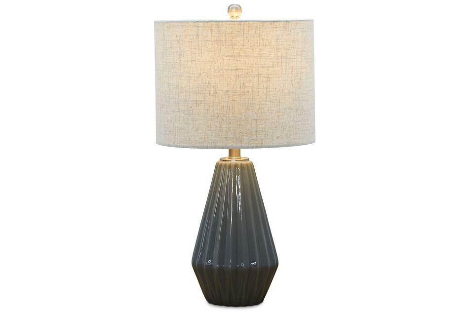 Yara Silver Table Lamp