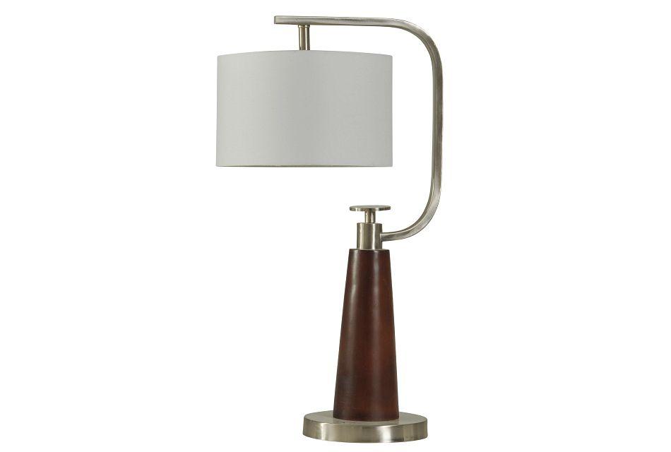 Wren Wood  Table Lamp