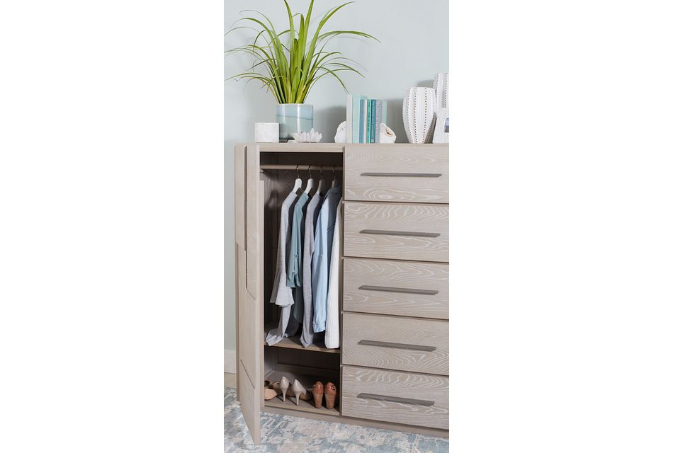 Destination Light Tone Wardrobe Chest