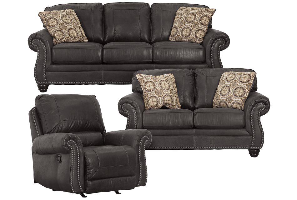 Breville Dark Gray Micro Living Room