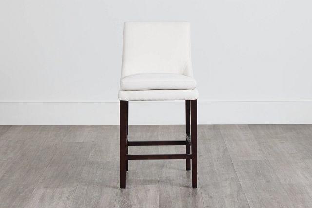 """Tito White 24"""" Upholstered Barstool (0)"""