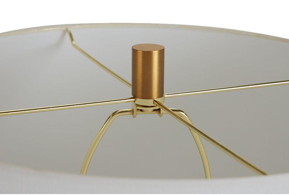Annie White Terrazzo Table Lamp,  (3)