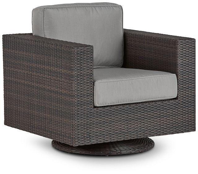 Fina Gray Swivel Chair (0)