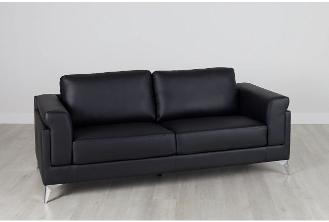 Gianna Black Micro Sofa
