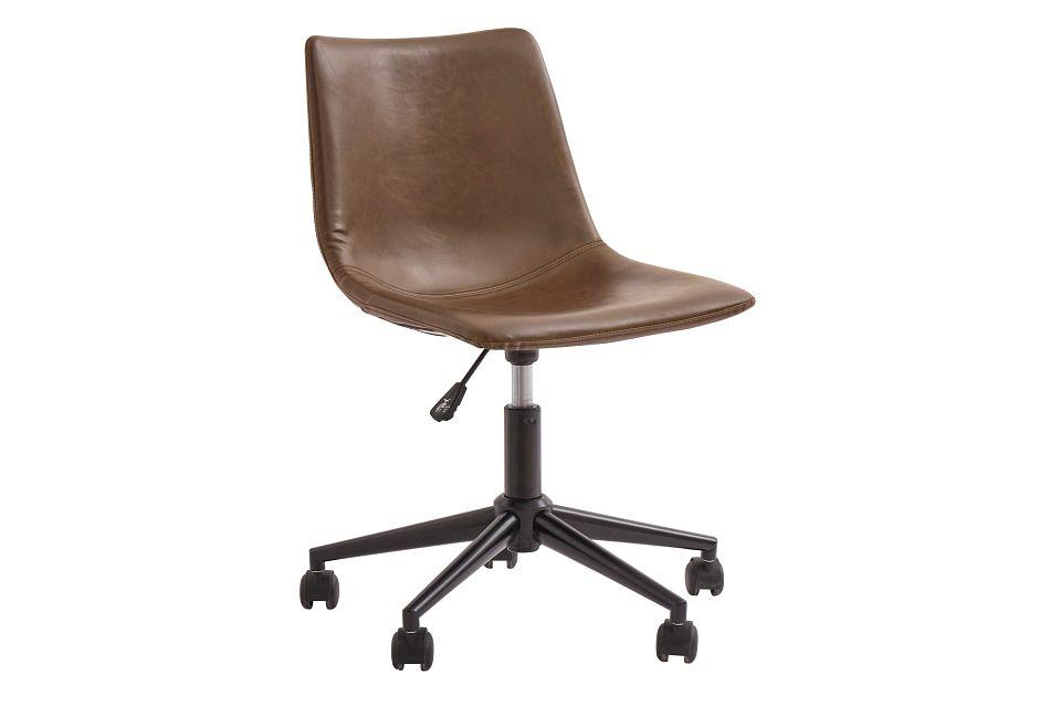 Centiar2 Brown Swivel Desk Chair,  (0)