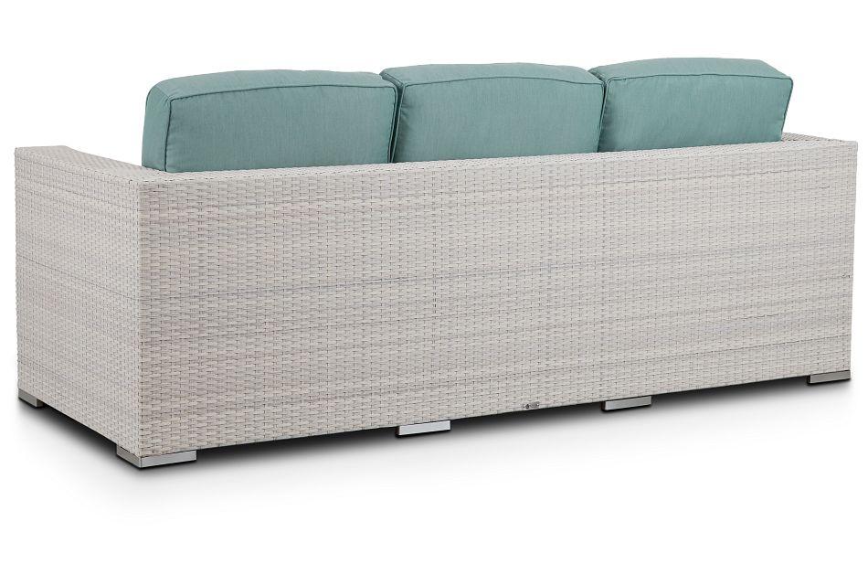 Biscayne Teal Sofa