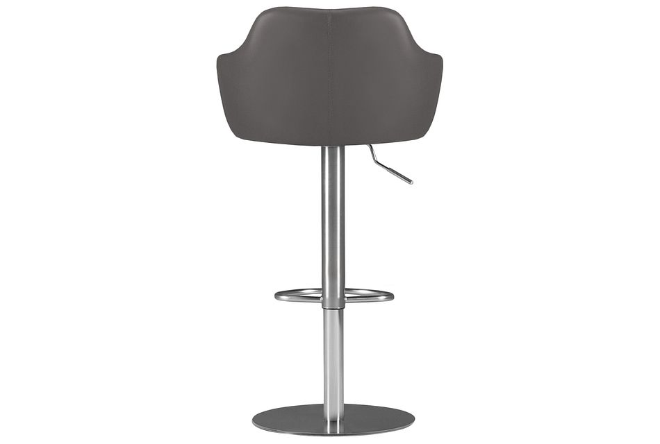 Hyde Gray Uph Adjustable Stool