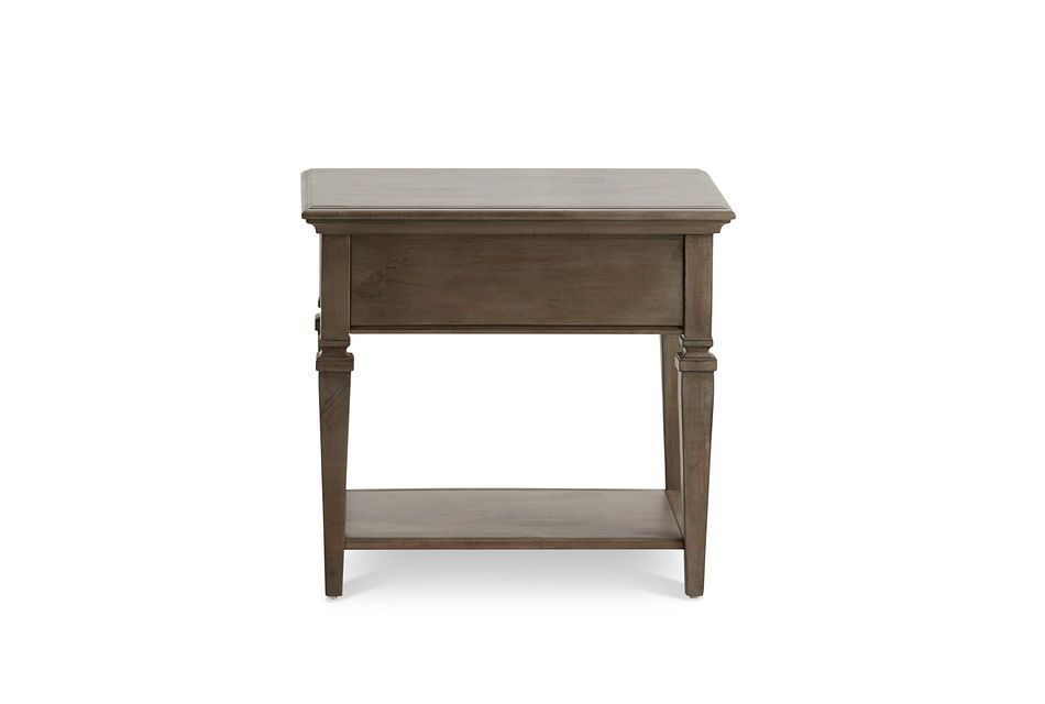 Sonoma Light Tone Rectangular End Table