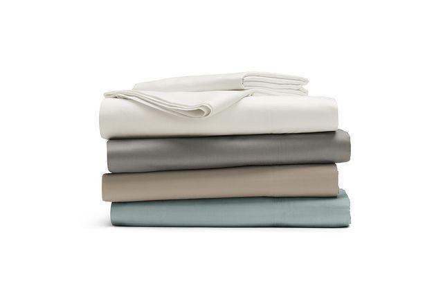 Egyptian Cotton Gray 400 Thread Sheet Set