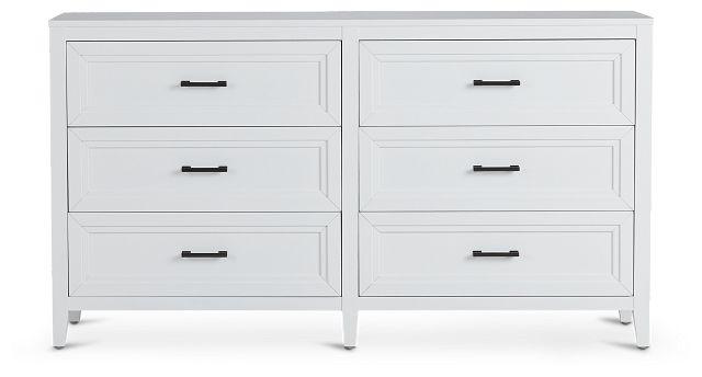 Nantucket White Dresser (1)