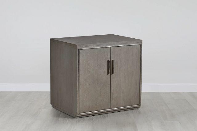 Highline Gray Door Cabinet (0)