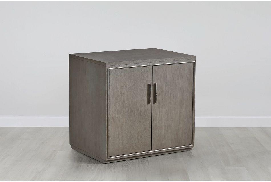 Highline Gray Door Cabinet