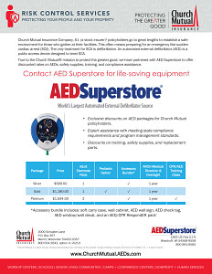 AED Partnership Brochure