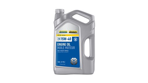 ENGINE OIL | NEWHOLLANDAG | CA | EN