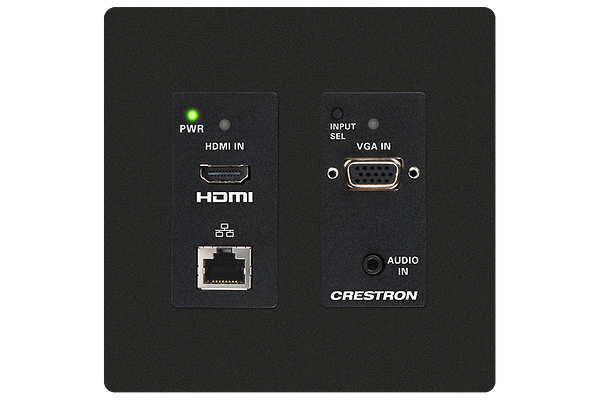 Master Photo: HD-TX-201-C-2G-E-B-T: Front with faceplate