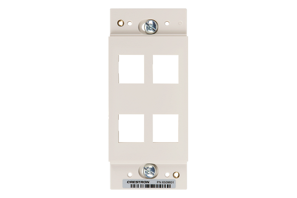 Master Photo: HZA-KEY4-A-S: Front View without Faceplate