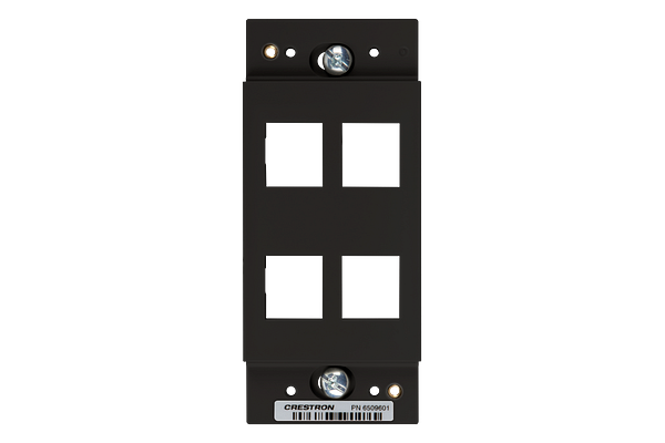 Master Photo: HZA-KEY4-B-S: Front View without Faceplate