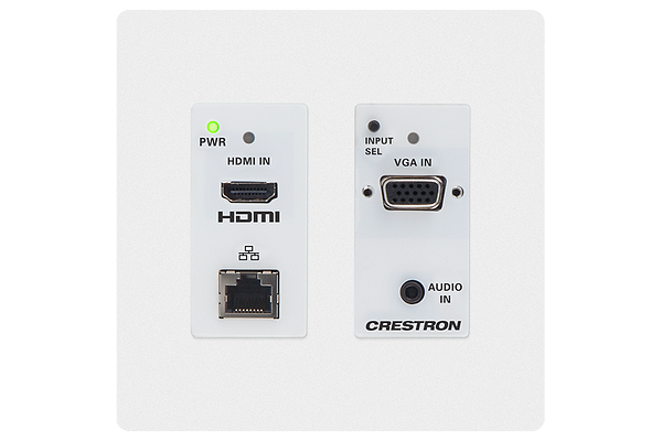 Master Photo: HD-TX-201-C-2G-E-W-T: Front with faceplate