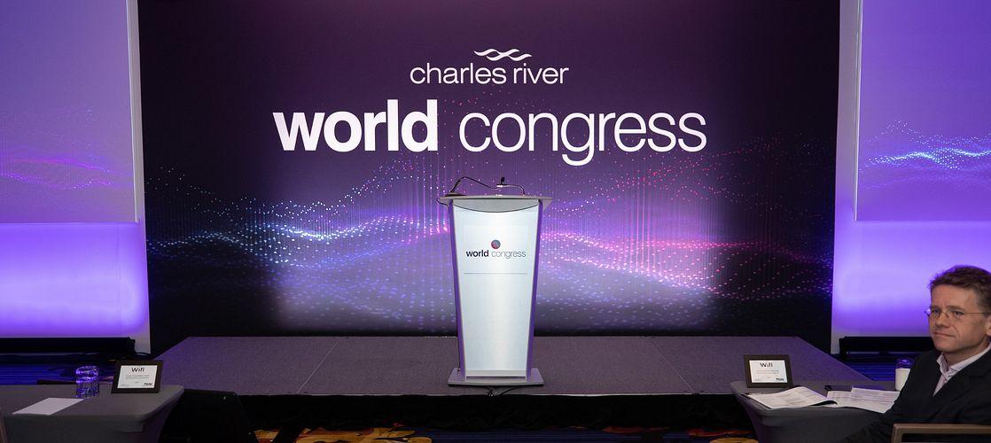 Carey Goldberg Moderates Artificial Intelligence Panel At Charles River World Congress