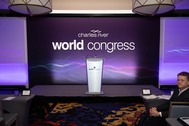 Carey Goldberg Moderates Artificial Intelligence Panel At Charles River World Congress