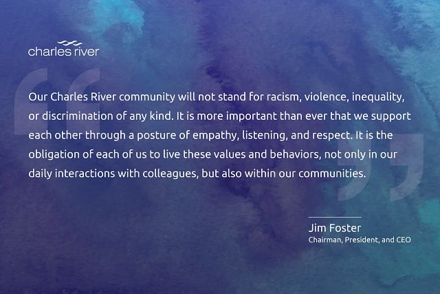 statement from Jim Foster about our commitment to equality