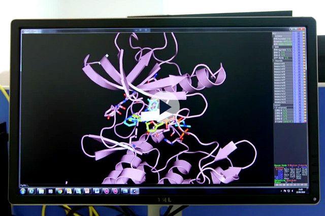 screen shot of drug development explainer video