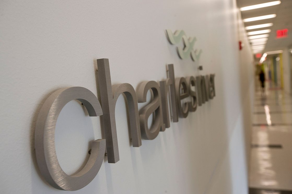 Charles River corporate signage
