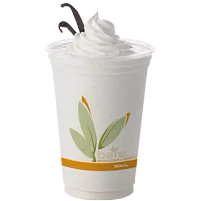 Vanilla shake in Bare by Solo Eco-Forward RPET cup