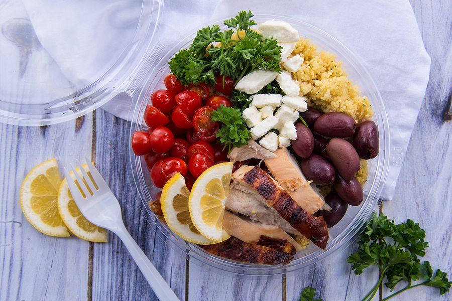 Mediterranean quinoa PresentaBowl®