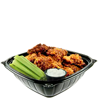 Chicken Wings in a PresentaBowls Pro bowl