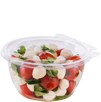 Caprese salad in SafeSeal bowl