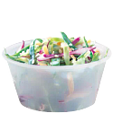 Coleslaw in Solo Soufflés portion container
