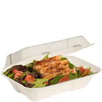 Chicken Salad in Bare® by Solo® Hinged Lid Container