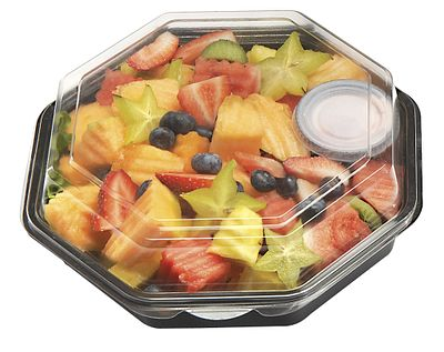 Octaview with Fruit Salad