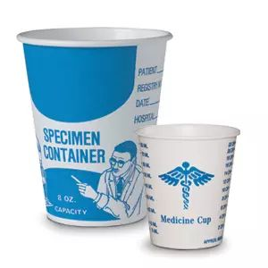 Solo® Paper Medical Cup