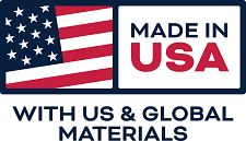 Made in the USA with U.S. and Global Materials