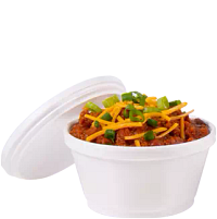 Chili in J Cup Food Container