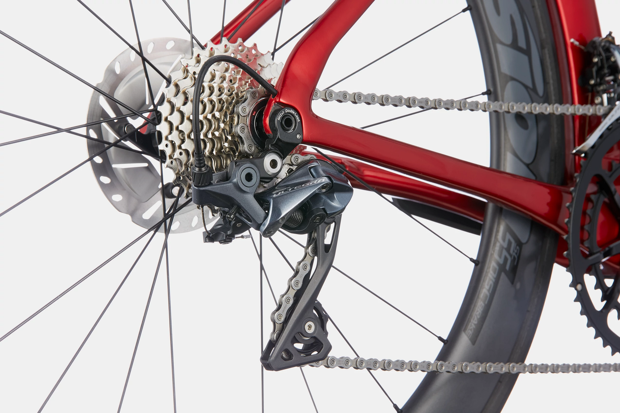 SystemSix  Carbon Ultegra Detail Image