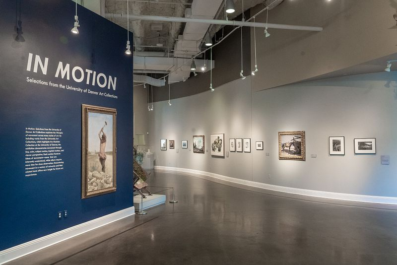 The In Motion exhibit at the Madden Museum