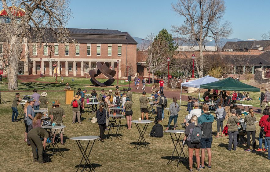 campus earth day event
