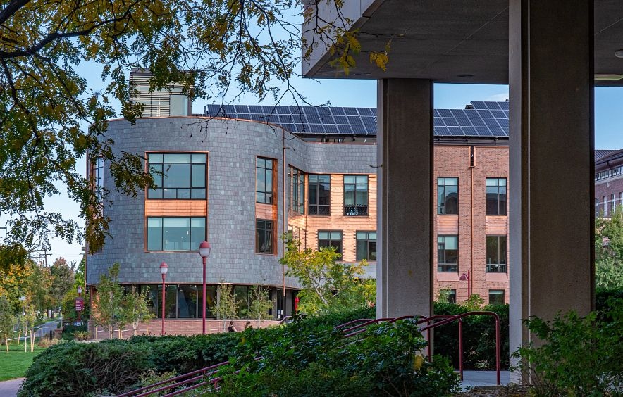 the Burwell Center on DU's campus