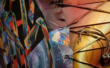background image, indigenous art