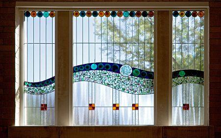 abstract art window