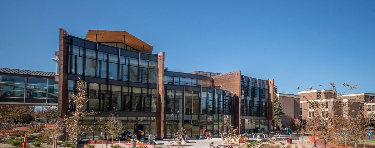 Community Commons building on the Denver campus.