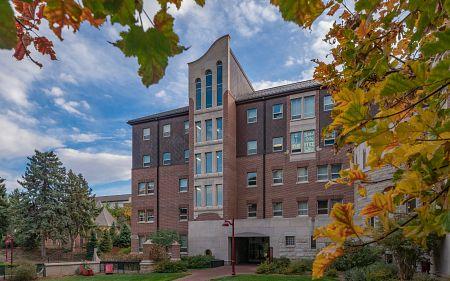Nagel Hall on DU campus
