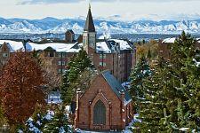 Campus winter