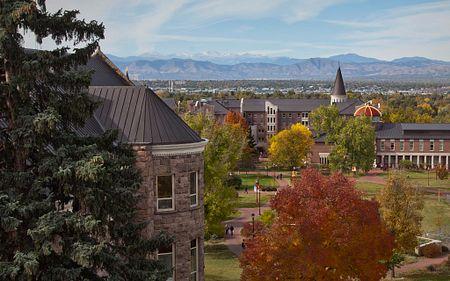 view of DU campus