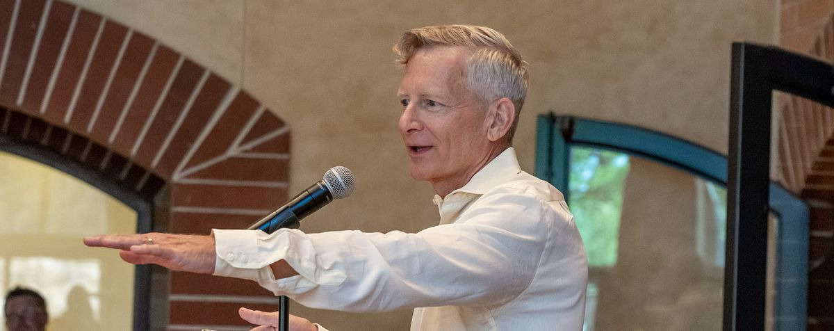 Haefner speaking